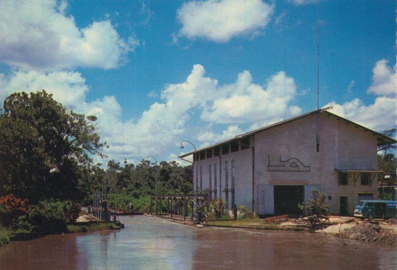 Suriname v. 1968  Pompgemaal te Wageningen   (54383)