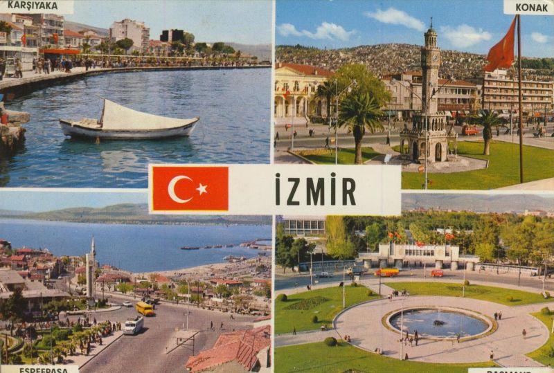 Izmir v. 1972 4 Stadtansichten  (55205)