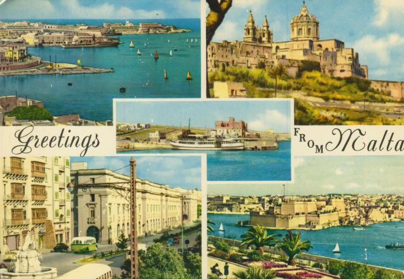 Malta v. 1976  5 Ansichten  (55260)