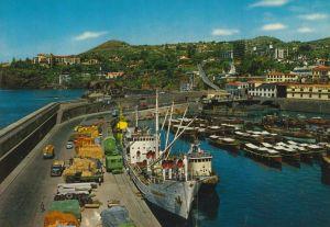 Madeira v. 1975  Hafen und Stadt  (55311)