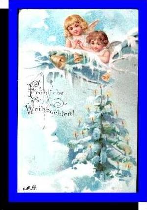 Weihnachten v.1901 2 Engel (1899)