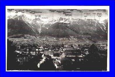 Innsbrück v. 1942 Stadt & Berge (1790)