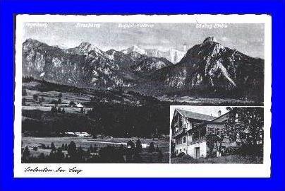 Seeleuten v. 1940  Dorf & Pension Seeleuten  (2062)