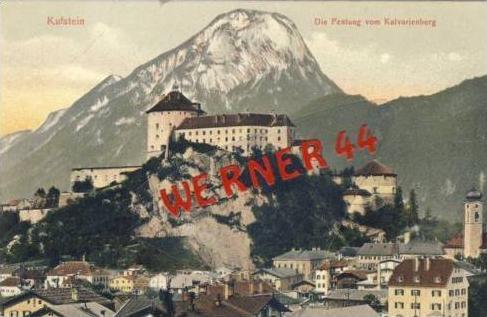 Kufstein v.1908 Stadt & Festung (2710)