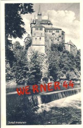 Kriebstein v.1936 Schloß Kriebstein (2718)