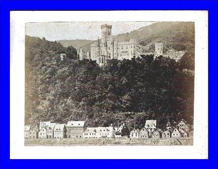 Foto-AK Stolzenfels mit Stadt v.1890 (1701)