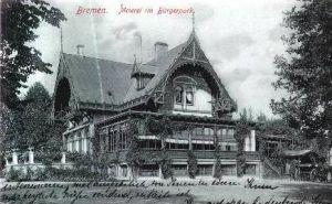 Bremen v.1906 Meierei im Bürgerpark (3377A)