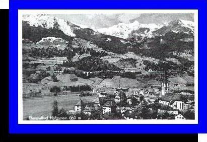 Hofgastein v.1957 Teil-Stadt (3456)