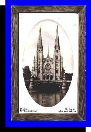 Strassburg v.1910 Ev. Gamisonskirche (3684)