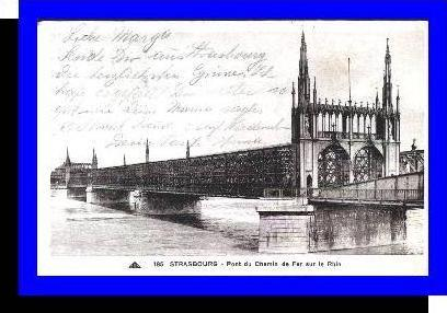 Strassburg v.1937 Pont du Chemin (3685)