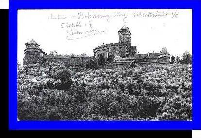 Schlettstadt v.1907 Hohkönigsburg (3698)