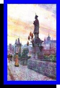 Prag v.1924 Charles Bridge (3807)