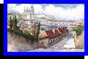 Prag v.1924 Kleinseite und (3809)