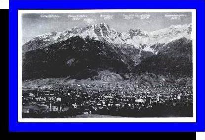 Innsbruck v.1934 Teil-Stadt-Ansicht (3989)