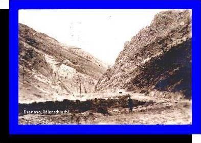 Drenovo v.1919 Adlerschlucht (4670)