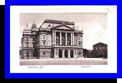 Schwerin v.1922 Hoftheater (4713A)