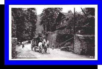 Schwarzatal v.1955 Postkutsche (4733A)