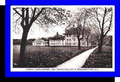 Schwand-Münsingen v.1936 Schule (4748A)
