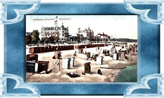 Zinnowitz v.1916 Hotel`s & Strand (4833)