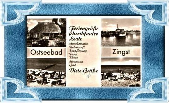 Zingst v.1958 4 Ansichten (4837)