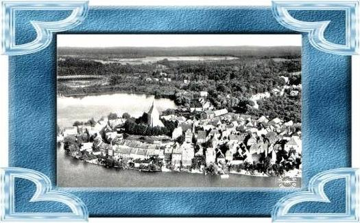 Mölln / Lbg v.1955 Dorfansicht (4857)