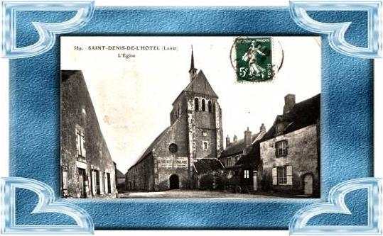 Saint Denis de L`Hotel v.1912 .(4899-008)
