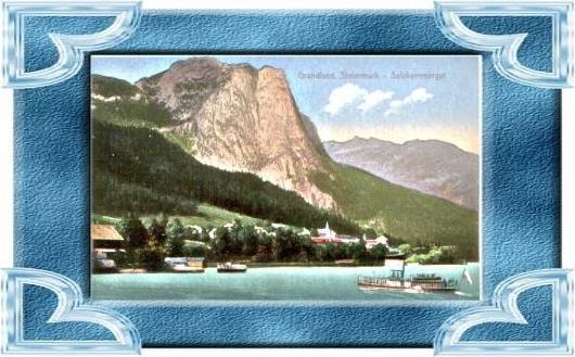 Grundlsee v.1910 See & Dorf .(4899-025)