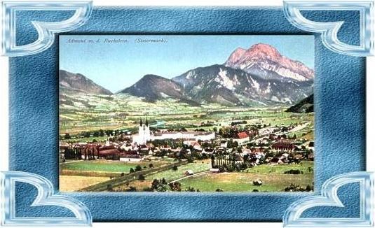 Admont v.1910 Dorfansicht (4899-033)