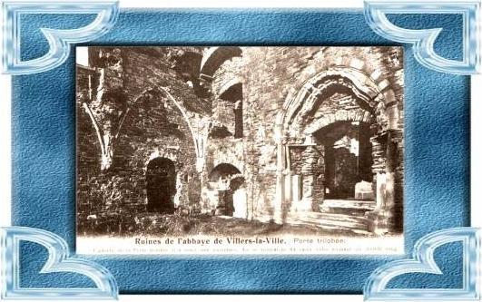 Ruines de Fabbaye de Villers la Ville .(4899-034)