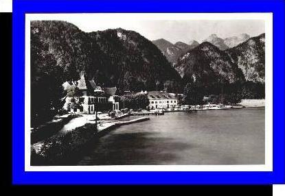 Attersee v.1937,,Hotel-Pension-Burgau (5223)
