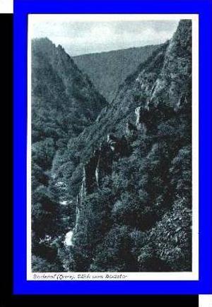 Bodetal v.1934 Blick ins Bodetal (5257)
