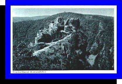 Bodetal v.1934 Bismarckfelsen (5259)