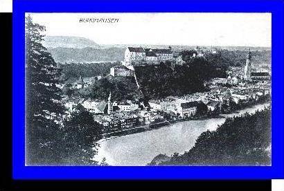 Burghausen v.1925 Teil-Stadt (5262)