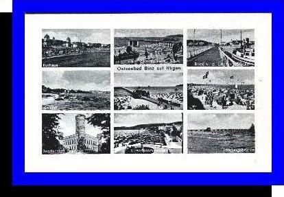 Ostseebad Binz v.1943 9 Ansichten (5267)