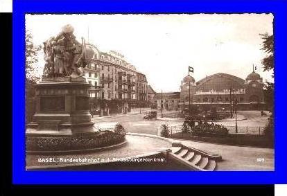 Basel v.1928 Bundesbahnhof (5285)