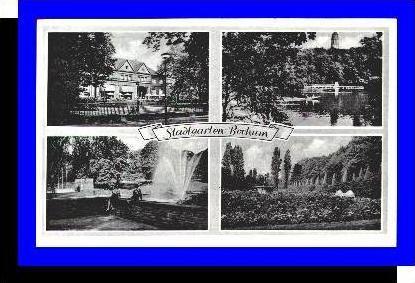 Bochum v.1953 Stadtgarten,-4 Ansichten (5295)