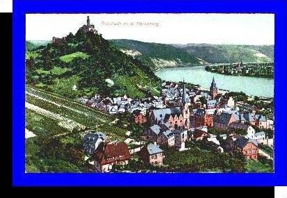 Braubach v.1910 Teil-Stadt-Ansicht (5299)