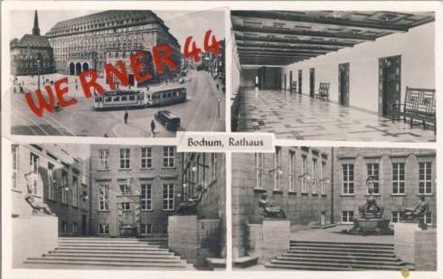 Bochum v.1953 4 Ansichten vom (5300)