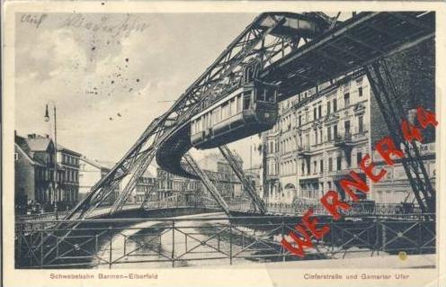 Barmen-E v.1916 Cieferstasse und (5305)