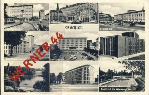 Bochum v.1957 9 Ansichten (5307)