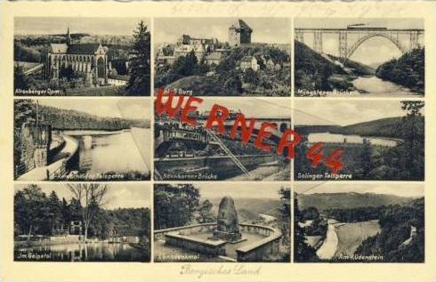 Bergisches Land v.1935 9 Ansichten (5315)