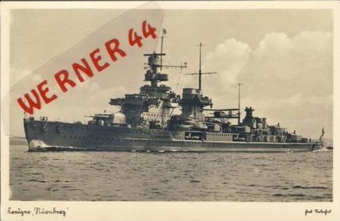 Kreuzer Nürnberg v.1938 (6305)