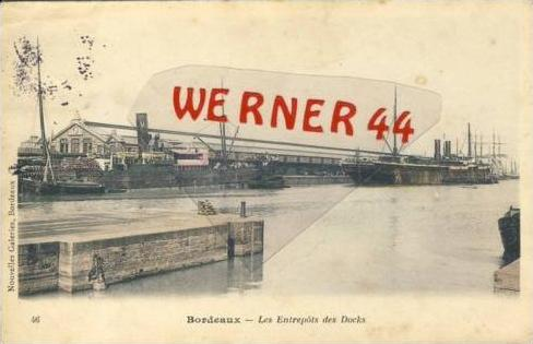 Bordeaux v. 1904  les Enttrepots des Docks (27402)
