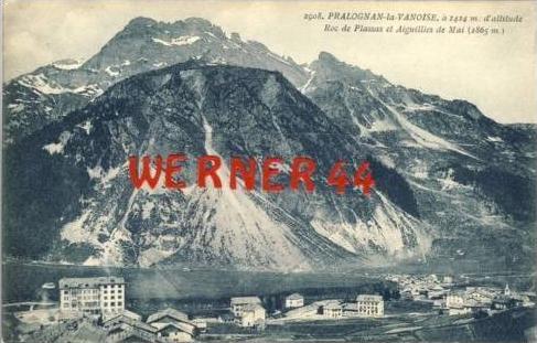 Pralognan la Vanoise v. 1920  Dorfansicht   (27406)
