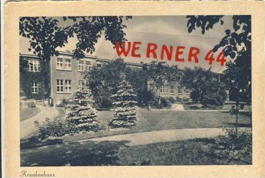Dessau v.1940 Krankenhaus (7086)