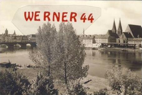 Frankfurt / O v.1938 Teil-Stadt.-Ansicht (7266)