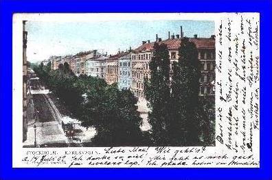 Stockholm v.1902 Karlavägen (2022)