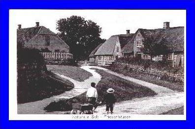 Keitum a. Sylt v.1934 Dorfansicht (2039)