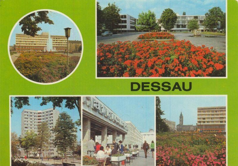 Dessau v. 1986 Haus des Reisens,Bauhaus,Hochhaus,Cafe