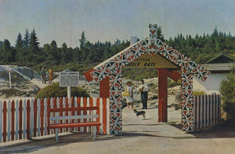 Rotorua / Neuseeland v. 1970  Tikitere Hell`s Gate  (55410)